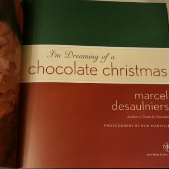 Other - NWOT Dreaming of a Chocolate Christmas Cookbook